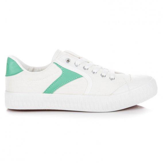 Biele tenisky K1830402BLA
