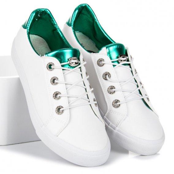 Biele tenisky Kylie K1880201VE