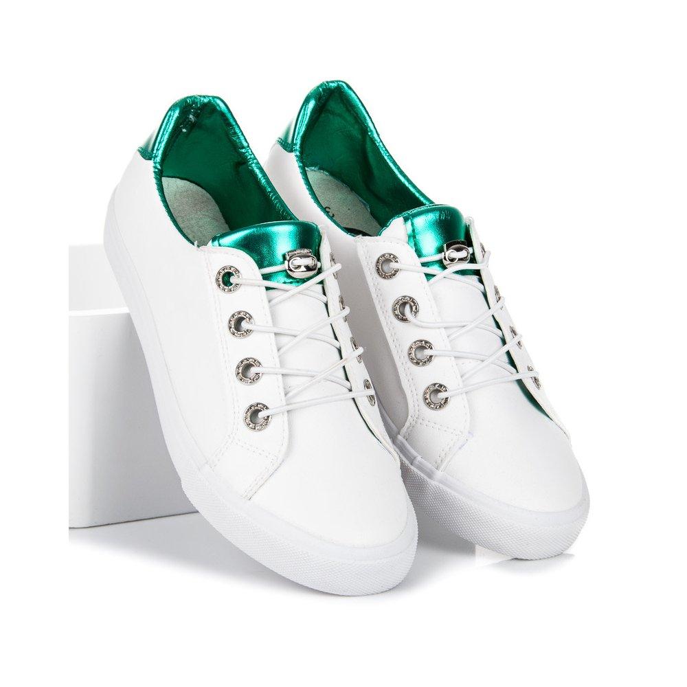 Biele tenisky Kylie K1880201VE - RioTopanky.sk ba73db1333b