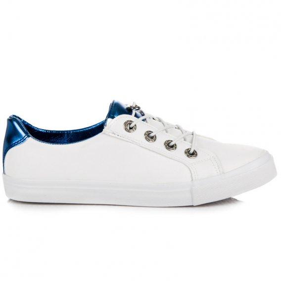 Biele tenisky Kylie K1880201AZ