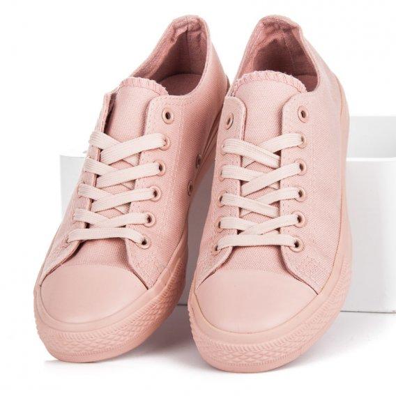Svetlo ružové tenisky NB176OR-P