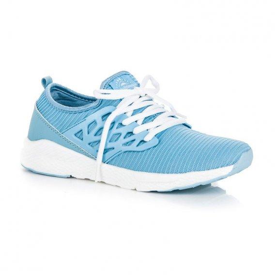 Nazúvacie textilné topánky B8147LT.BL