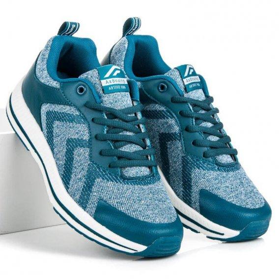 Viazané športové topánky B8165BL