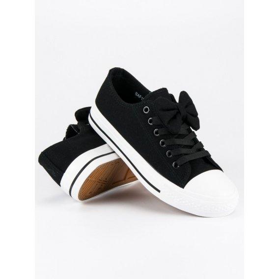 Čierne tenisky McKeylor BAF18-11620B