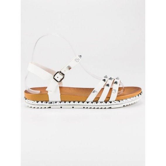 Rockové ploché sandále WSJ-50W