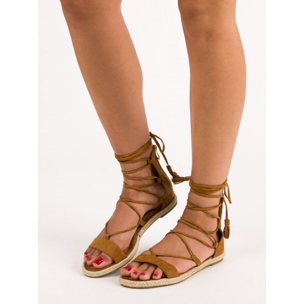 f04a09c69095 Sandále gladiátorky so strapcami Vices 3016-17C - RioTopanky.sk