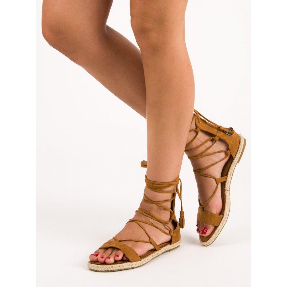 26cf22113a12 Sandále gladiátorky so strapcami Vices 3016-17C - RioTopanky.sk