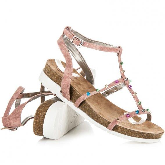 Sandále na kline Kylie K1717302ROSA