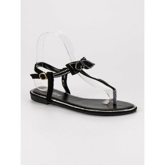 Sandále japonky s mašlou XC0707B