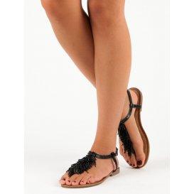 Ozdobné sandále žabky HLS044B