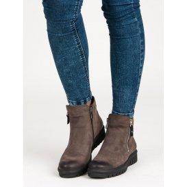 Nízke topánky na zips Vinceza 1270/5DK.BR