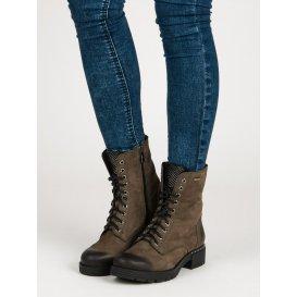 Šnurovacie topánky workery 1264/5GR