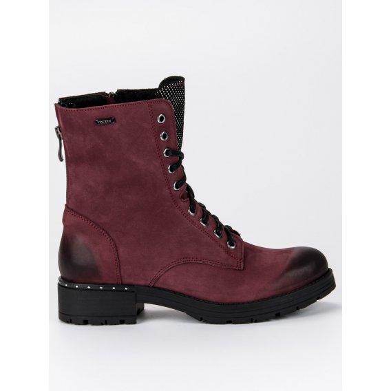 Šnurovacie topánky workery 1264/5BUR