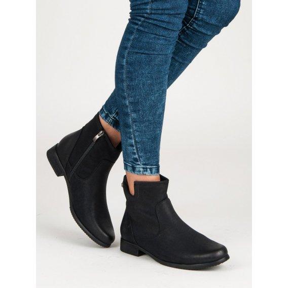 Klasické čierne topánky DBT449B