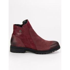 Pohodlné košené topánky Vinceza WZ1271/5BUR