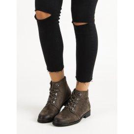 Členkové topánky s viazaním Vinceza HX19-16045KH