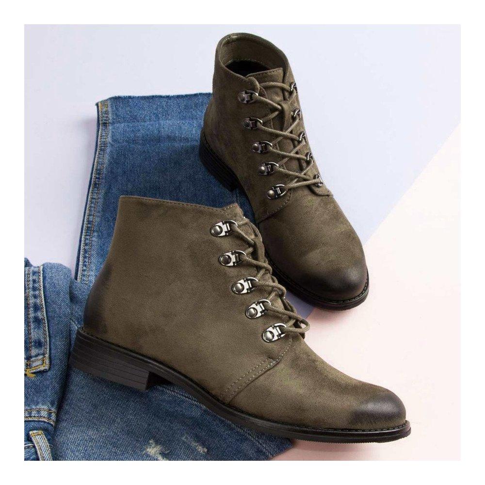 cbb9daf87321 Členkové topánky s viazaním Vinceza HX19-16045KH - RioTopanky.sk