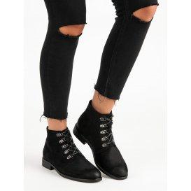 Členkové topánky s viazaním Vinceza HX19-16045B