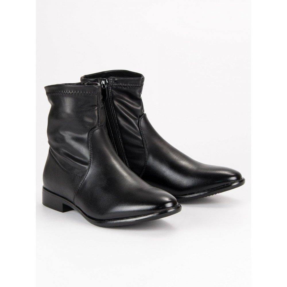 b0c5746230 Klasické čierne topánky A3202A-B - RioTopanky.sk