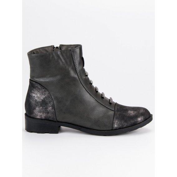 Šedé topánky casual DBT301/18G