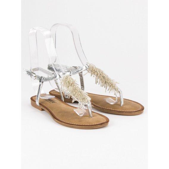 Ozdobné sandále žabky HLS044S
