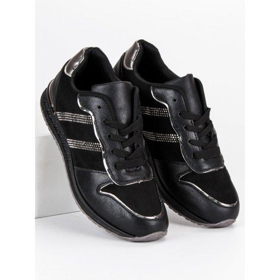 Čierne tenisky Vices 8438-1B