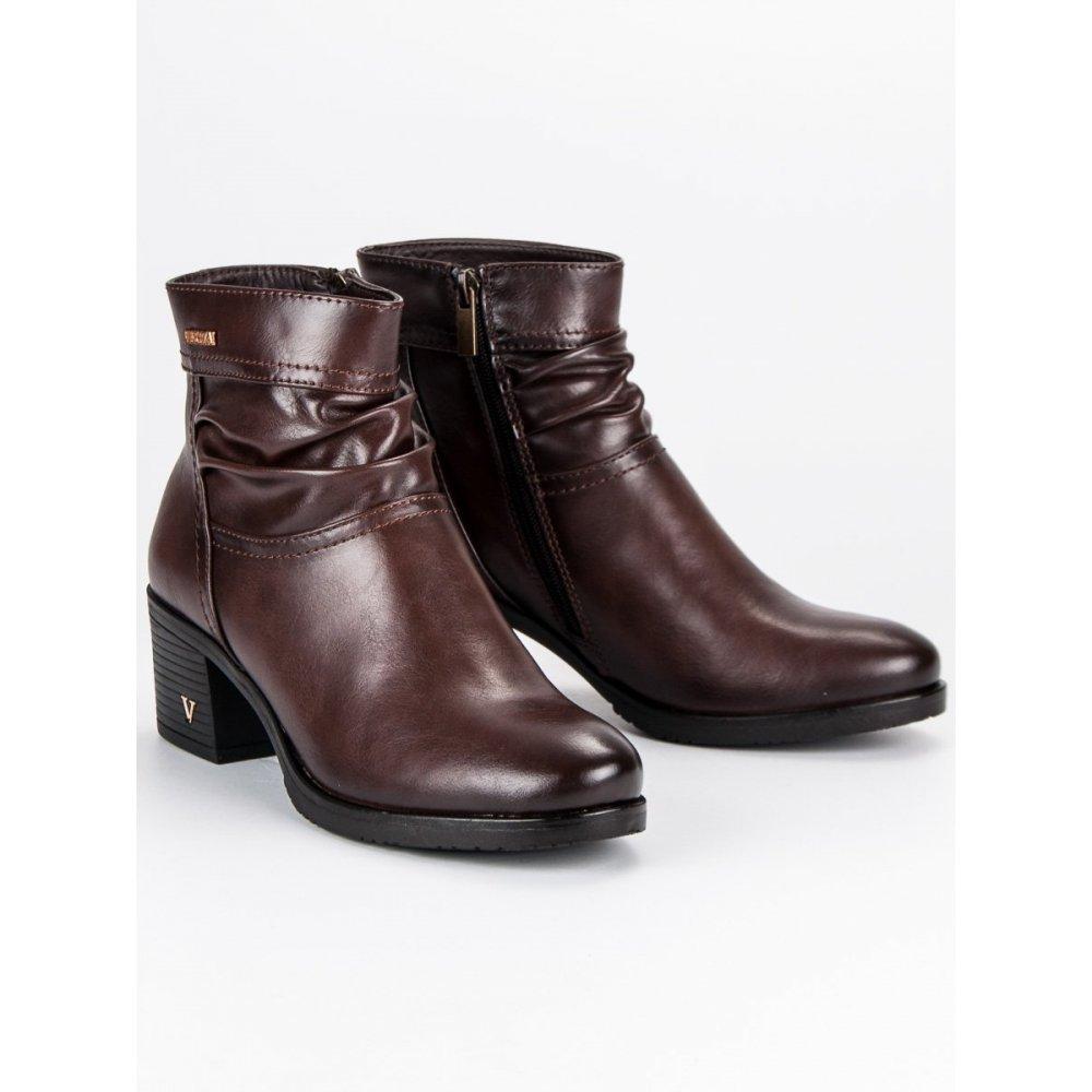 f8c48403e691 Hnedé topánky dámske Vinceza XY19-10464BR - RioTopanky.sk