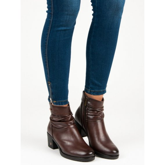 Hnedé topánky dámske Vinceza XY19-10464BR
