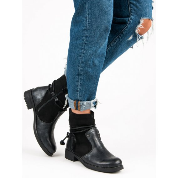 Módne jesenné topánky F2058B