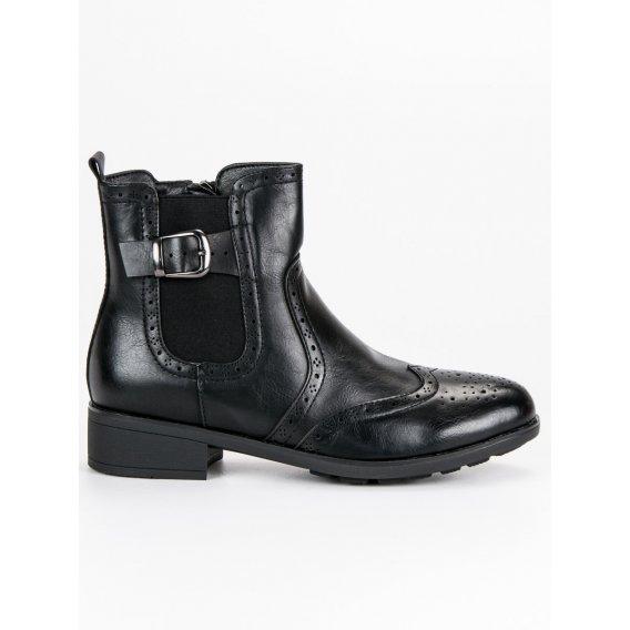 Čierne pérka DBT467/18B