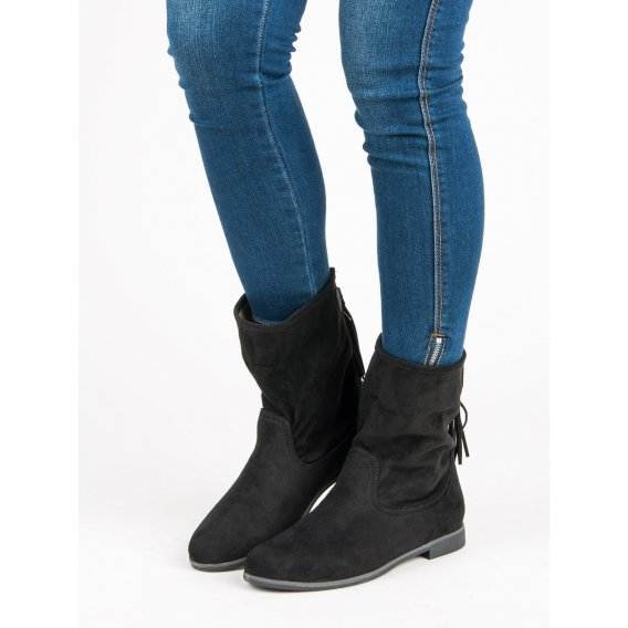 Semišové topánky Boho HFN-811B