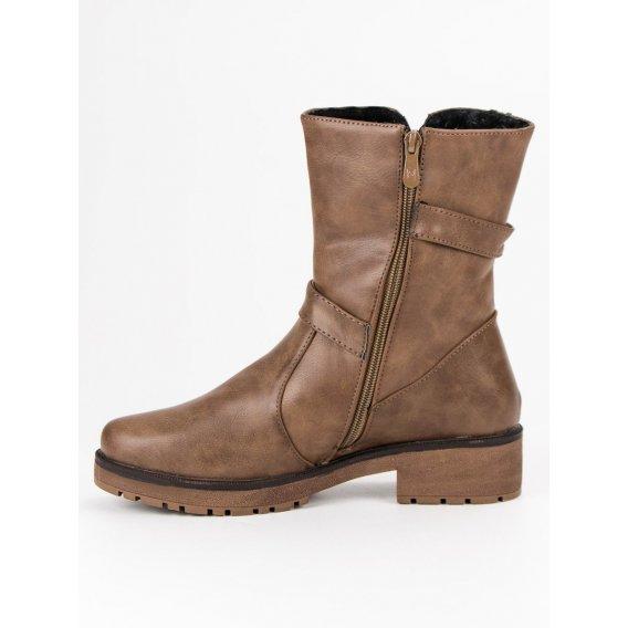 Zateplené topánky workery 9902KH