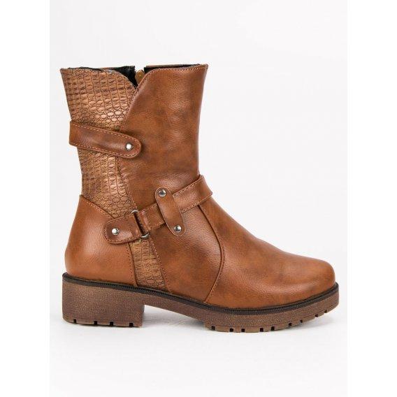 Zateplené topánky workery 9902C