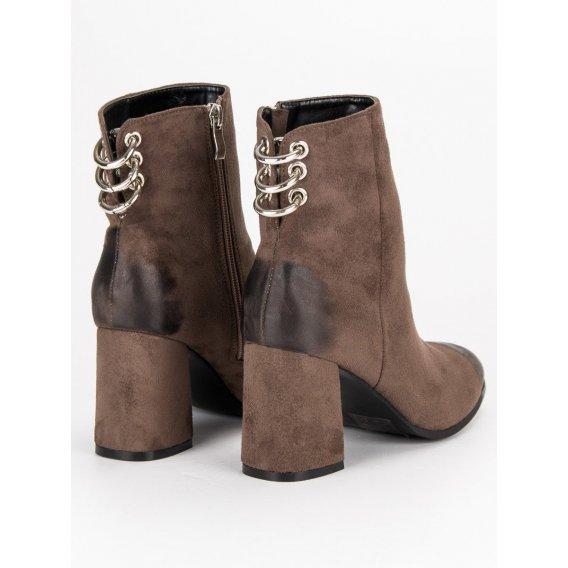 Štýlové topánky na stĺpci Vinceza YQE19-1774BR