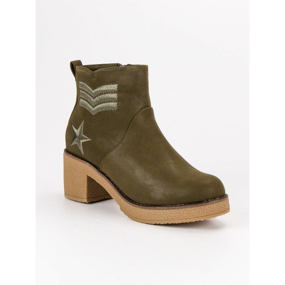 c4f7ae64d015 Vojenské dámske topánky K1822701KH - RIOtopánky.sk