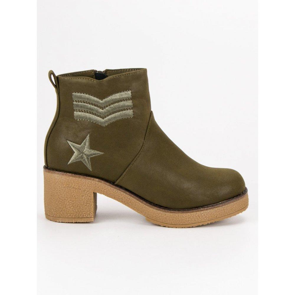 9b567644af Vojenské dámske topánky K1822701KH - RIOtopánky.sk