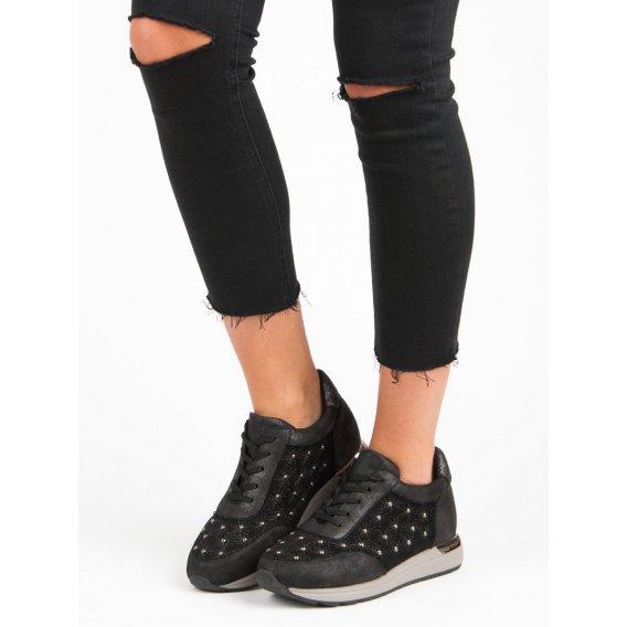 Čierne športové topánky K1822605NE