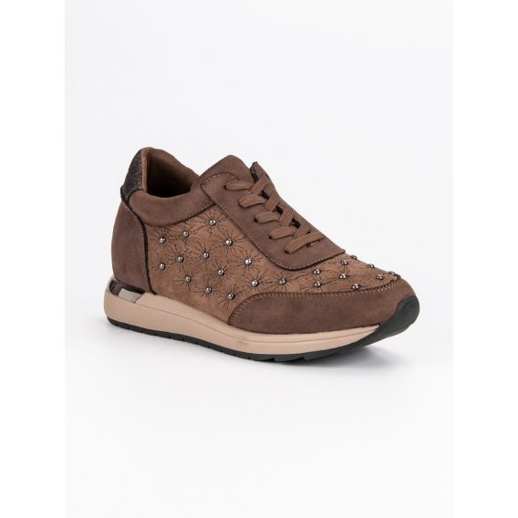 Hnedé športové topánky K1822605TA