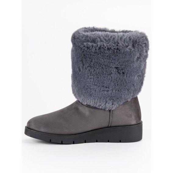 Módna zimná obuv K1838405G