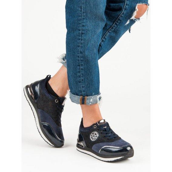 Viazané športové topánky A218-06-04MA