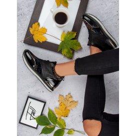 Viazané športové topánky A218-06-04MU
