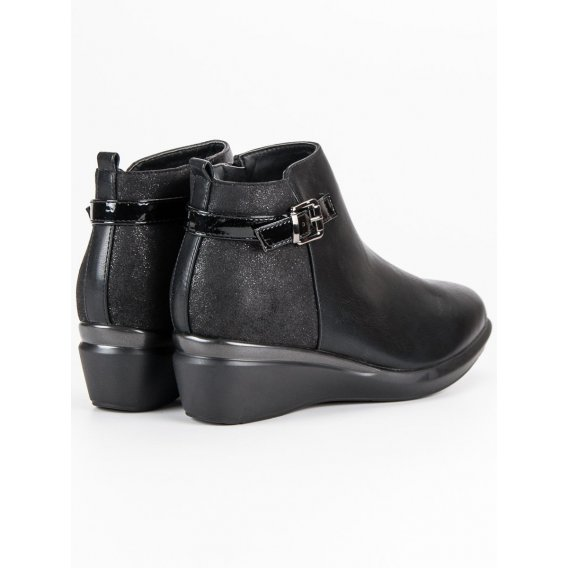 Čierne topánky K1837305NE