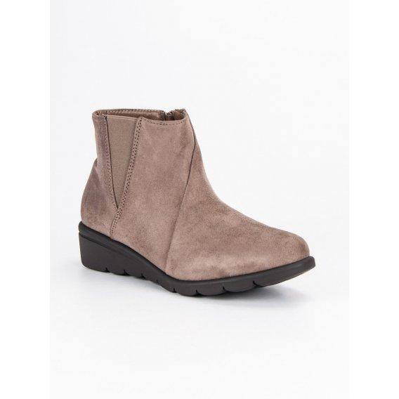 Semišové topánky K1837709T