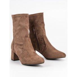 73de6a56b Nazúvacie semišové topánky K1825115TA