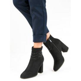 7249c0f4b Elegantné čierne topánky K1807309NE