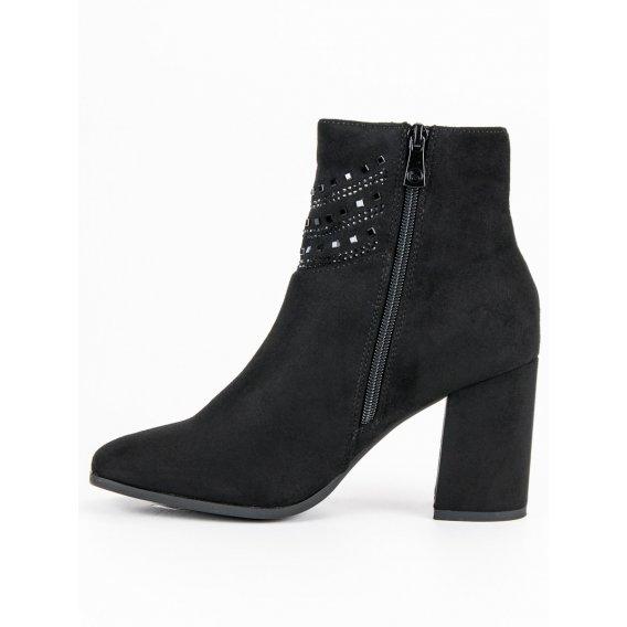 Elegantné čierne topánky K1807309NE