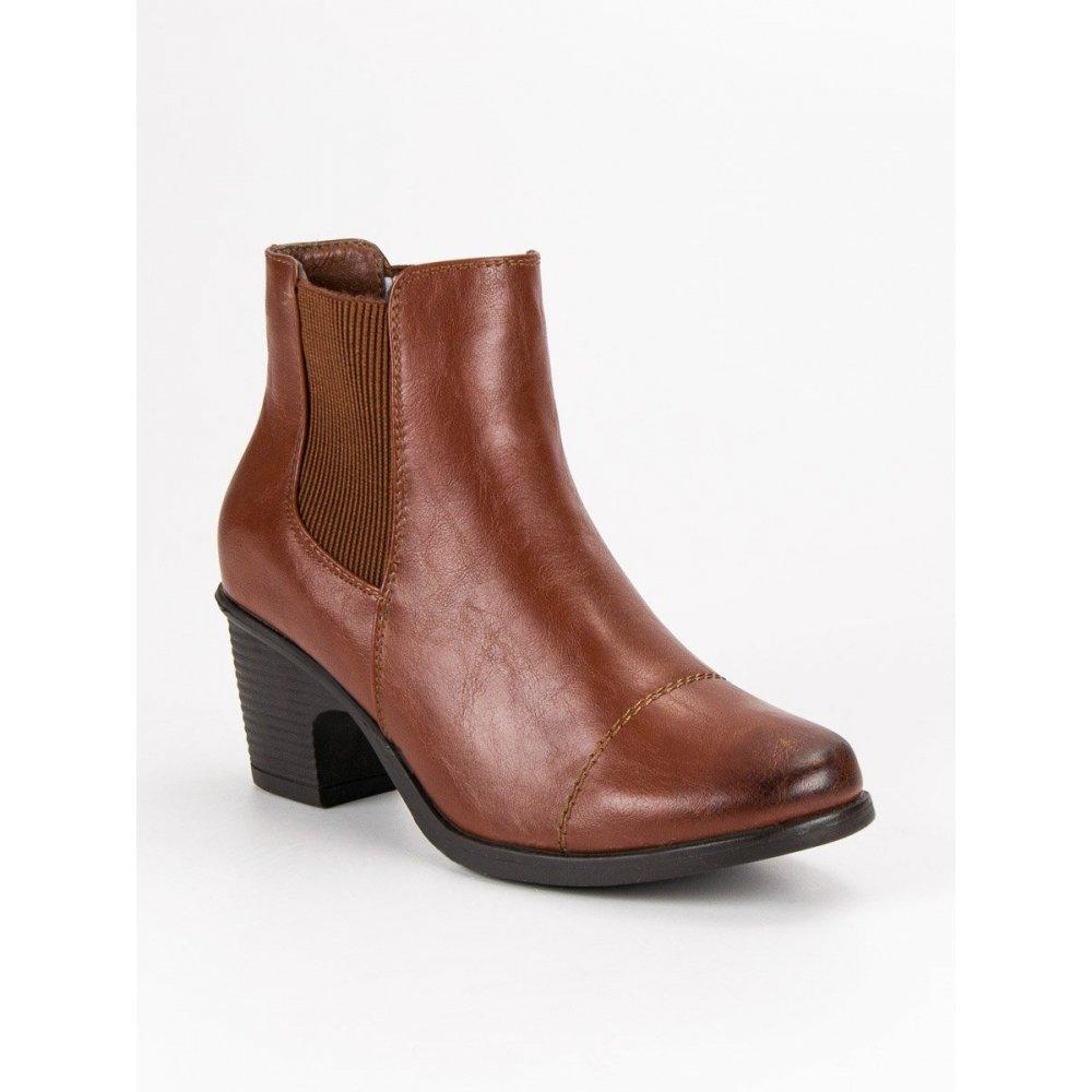 44c8313275a7 Hnedé topánky na podpätku - RIOtopánky.sk