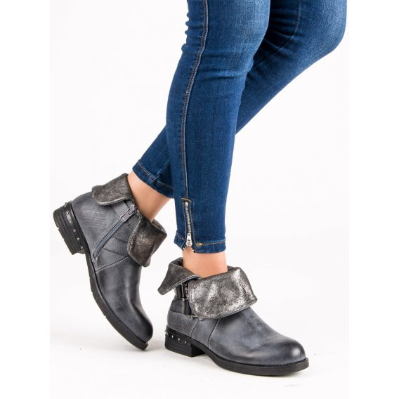 Bordové topánky workery