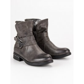 Šedá obuv Workery
