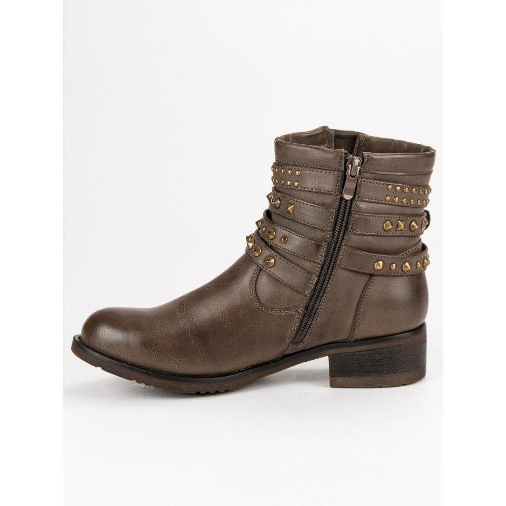 e80f33468 Rockové topánky s cvokmi - RIOtopánky.sk
